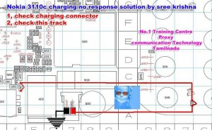 3110c Not Charging Problem