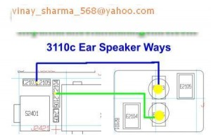 3110c Earpiece Speaker Ways Problem