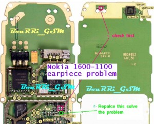 6030 Earpiece Speaker Ways Problem