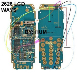 2626 No Display Lcd Problem 1