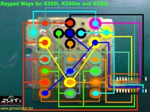 K550i Keypad Ways Problem