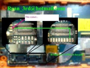 W800i, W810i Lcd Led Lights Problem 4