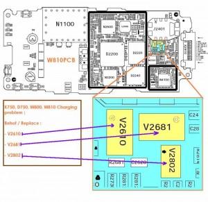 W800i, W810i Not Charging Problem 3