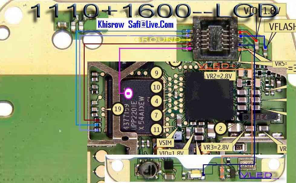 Nokia 1600 Display Light: ... 1600 No Lcd Display Ways Problem 3,Lighting