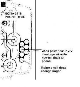 3310 Dead  Power Problem 2