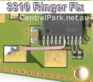 3310, 3410 Ringer Buzzer Ways Problem