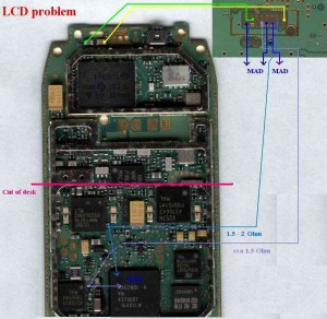 3310, 3410 No Lcd Display Problem