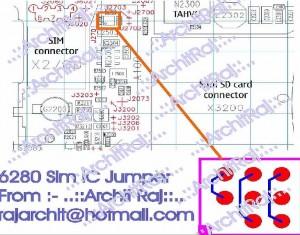 6280 Insert SIM Card Problem