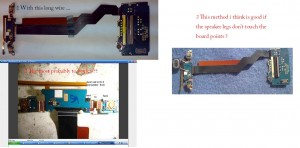 C905 Speaker Earpiece Ways Problem 3