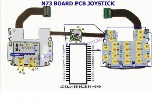 N73 Joystick Mouse Ways Jumpers