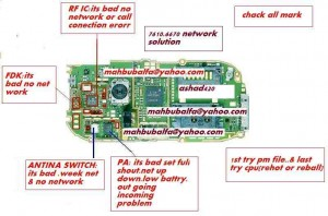 7610 No Network Problem