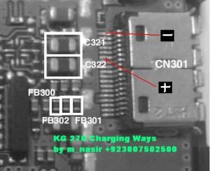 LG Kg 270 Not Charging Problem 2