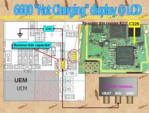 6600 Not Charging Problem 2
