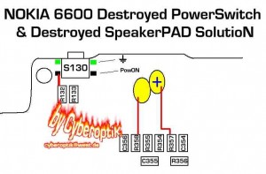 6600 Speaker Earpiece Ways Problem