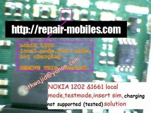 1202, 1203 Local Test Mode Problem 2