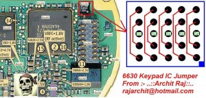 6630 Keypad Ic Wasy Problem 2