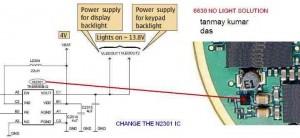 6630 Led Lights Lcd Display Backlights Problem 2