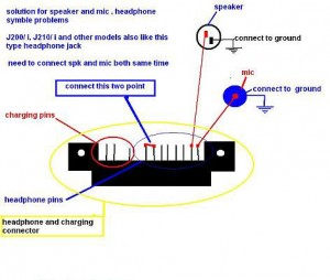 J200i Speaker Earpiece Ways Problem