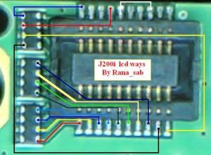 J200i, J210i Blue Lcd Display Problem 1