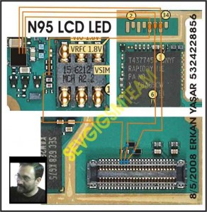 N95 Lcd Display Led Lights Problem 3