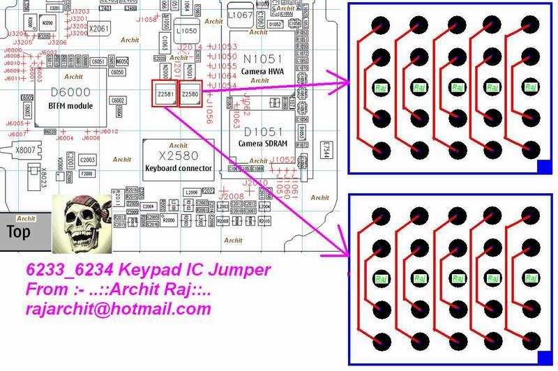 6233 Keypad Ways Problem | Mobile Repairing