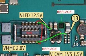 6233 Lcd Led Display Lights Problem