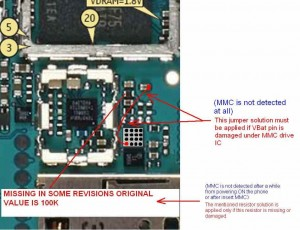 6300 No Memory Card Inserted MMC Problem 1