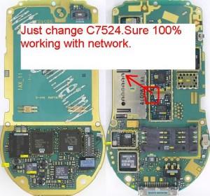 6630 No Network Signal Problem 2