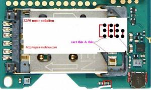 3250 Memory Card Corrupted MMC Problem 1