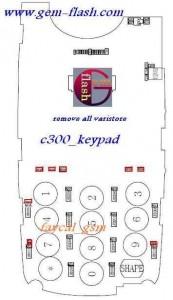 C300 Keypad Ways Problem