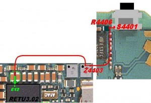 N70, N72 Power Button Switch Ways Jumpers 1