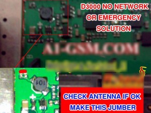 China D3000 No Network Signal Problem