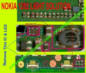5030 Led Display Lcd Lights Problem