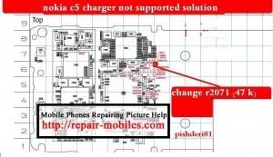C5-00 Not Charging Problem