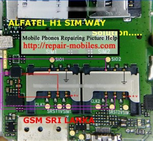 Alfatel H1 H2 Insert SIM Solution Ways Problem