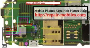 C2-00 Lcd Ways Display Problem Solution