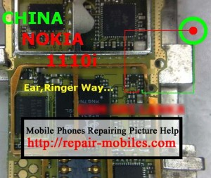1110i Ringer Ways Speaker Problem Solution