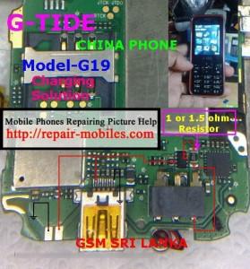 G-Tide G19 Charging Ways Problem Solution