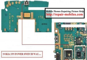 N95 Power Button Switch Ways Jumpers