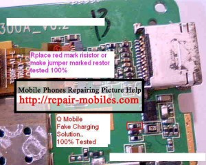 QMobile E400 Fake Charging Problem Solution
