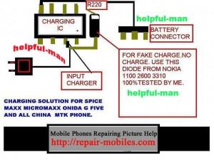 QMobile E400 Fake Not Charging
