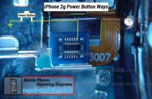 iPhone 2g Power Button Ways Switch Problem Solution