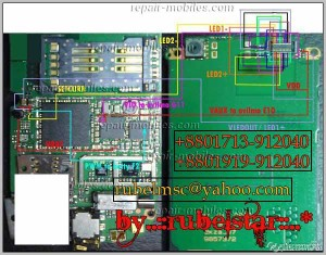 3120c LCD Ways Display Problem Solution