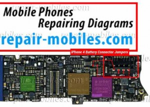 iPhone 4 Battery Connector Ways Problem Solution