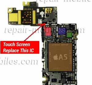 iPhone 4s Touch Screen Not Working