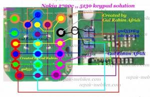 Nokia 5130 Keypad Problem Solution
