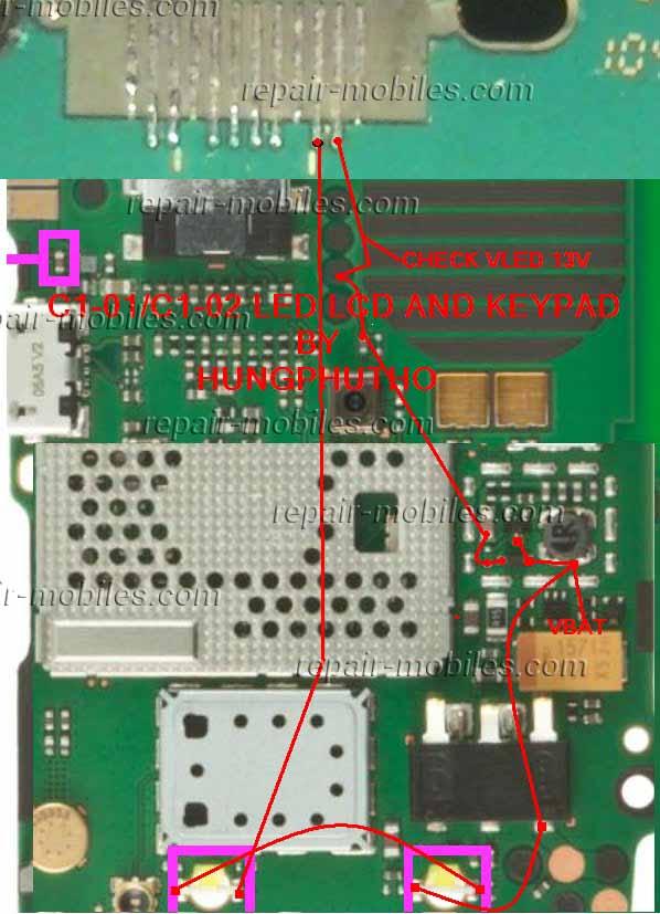 Circuit Diagram Nokia C1 01 | Wiring Diagram