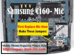 C160 Mic Problem Ways Solution