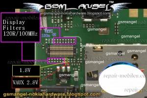 Nokia C2-08, C2-06, C2-03 LCD Problem