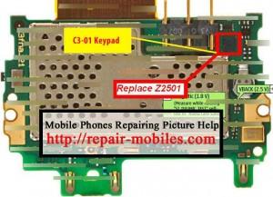 C3-01 Keypad IC Ways